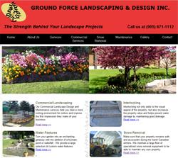 Internet marketing portfolio toronto mississauga b2b for Ground force garden designs